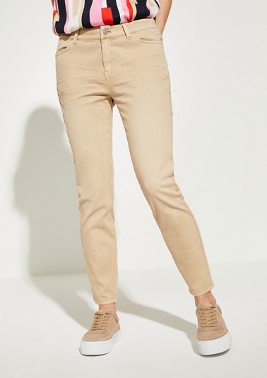 Skinny Fit: Skinny leg-Coloured Denim