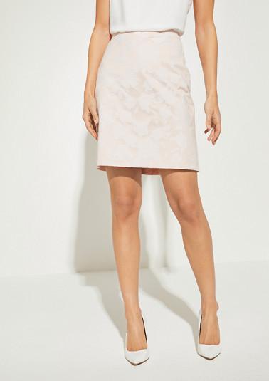 Regular Fit: Jacquard skirt from comma