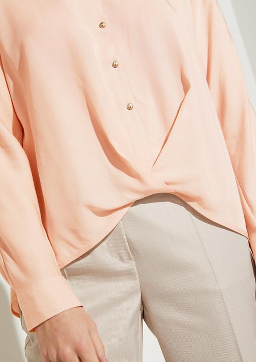 Bluse mit Knoten-Detail