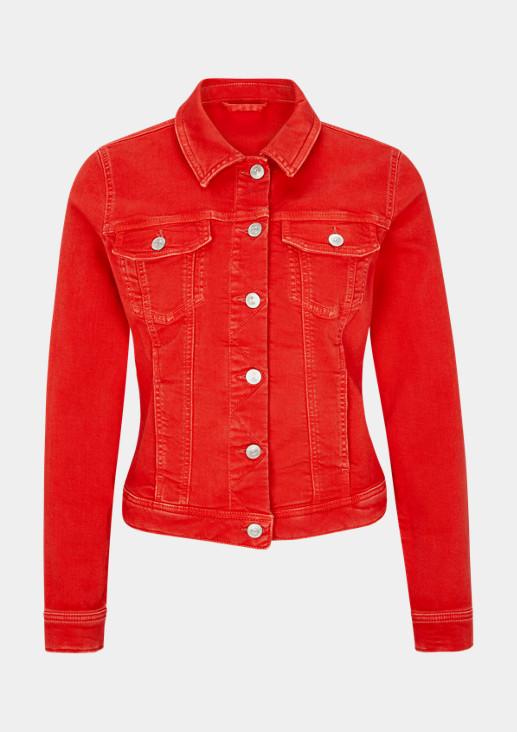 Coloured Denim-Jacke