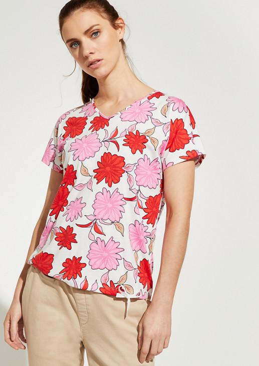 O-Shape-Shirt mit Rückenausschnitt