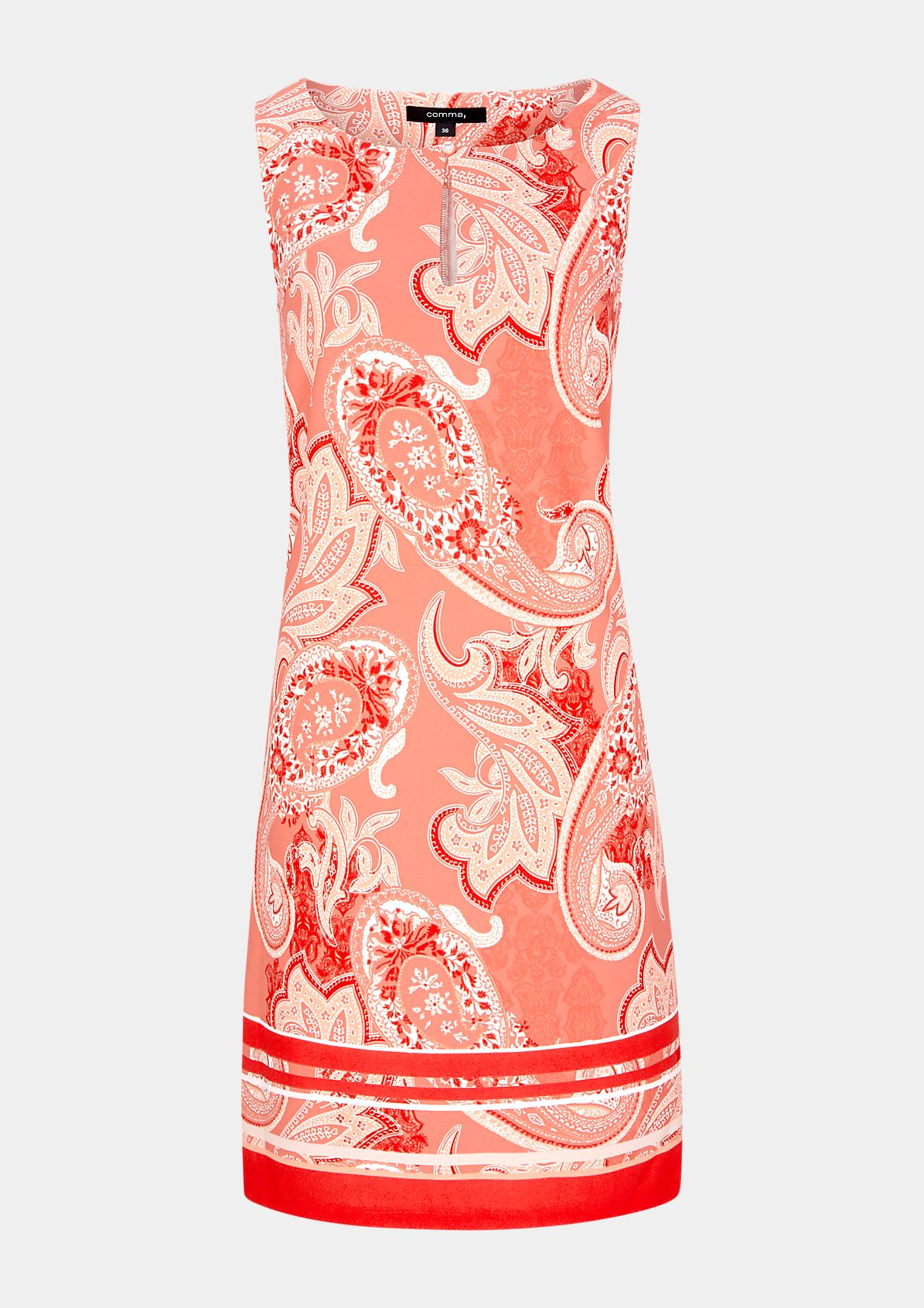 Kleid mit Allover-Print