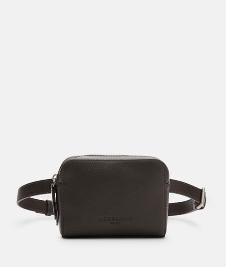 Box-shaped belt bag from liebeskind
