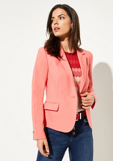Stretch cotton blazer from comma