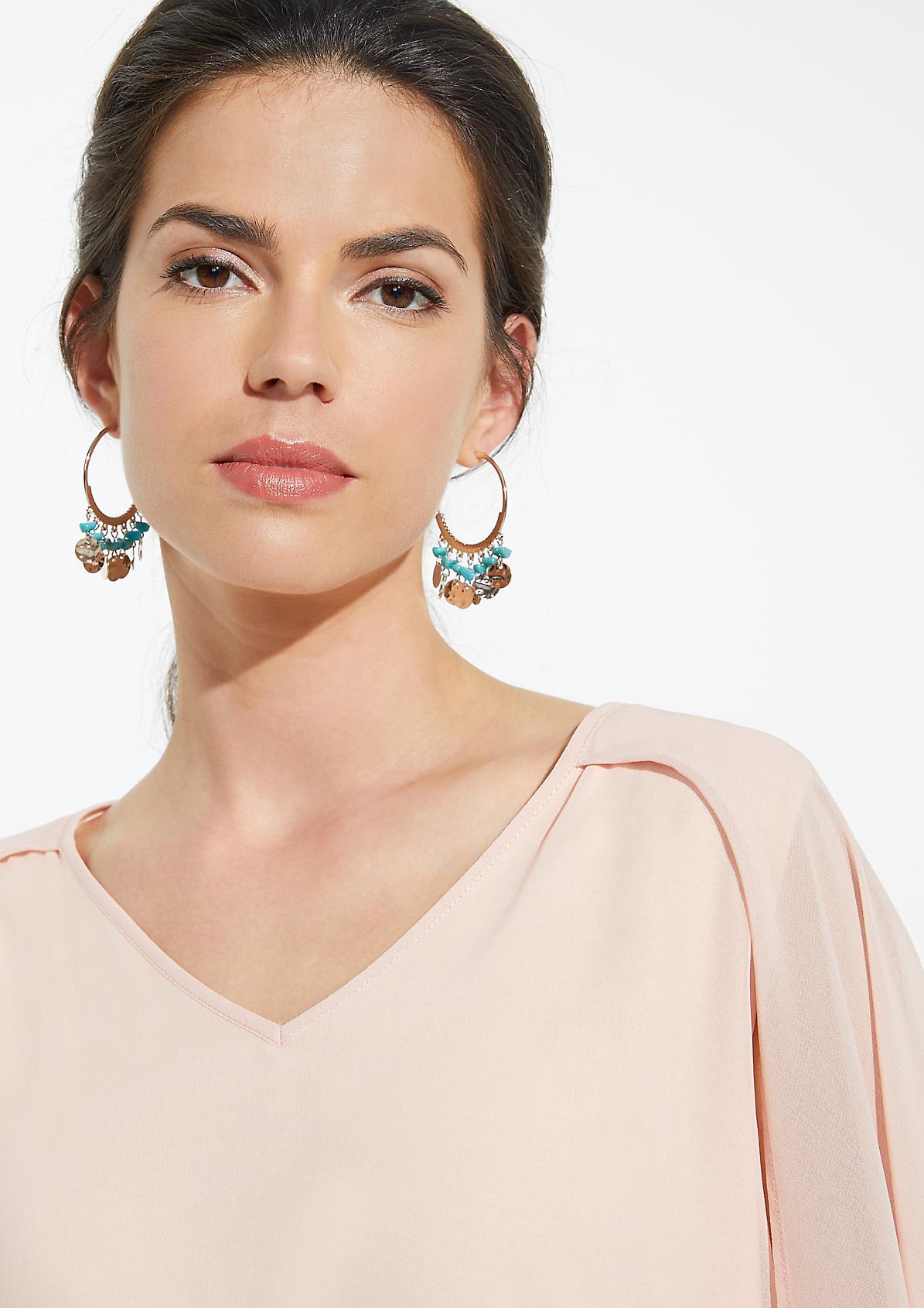 Ohrringe mit Schmucksteinen