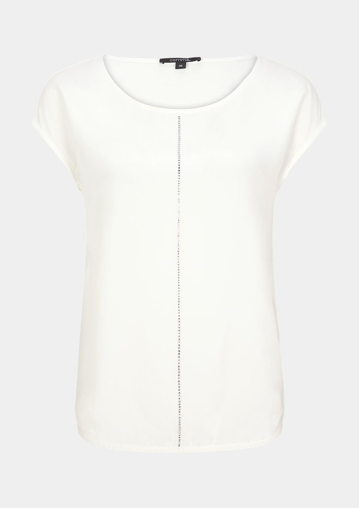 Shirt mit Swarovski® Kristallen
