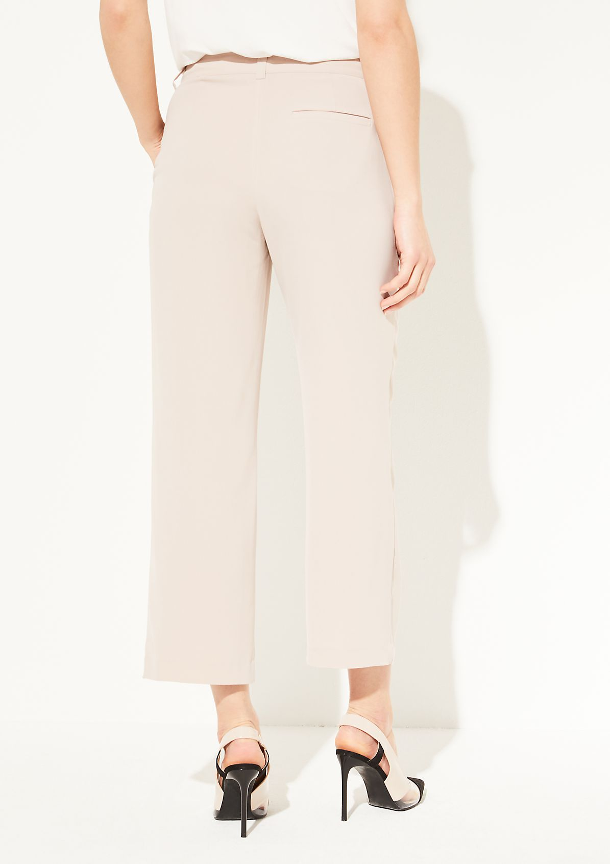 Loose Fit: Wide leg-Hose