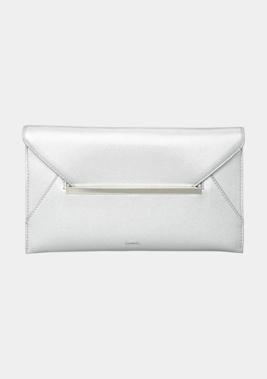 Clutch in a smooth leather look from comma