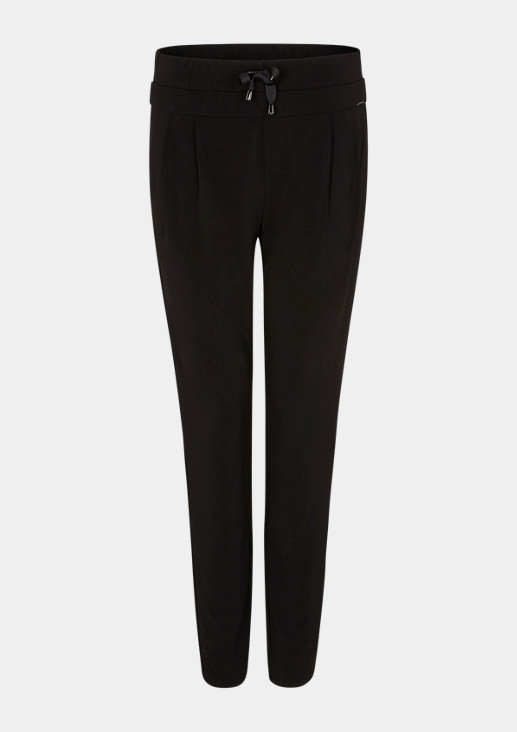 Regular Fit: Tapered leg-Jerseyhose