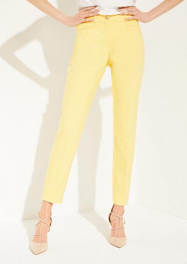 Regular Fit: Bügelfalten-Hose