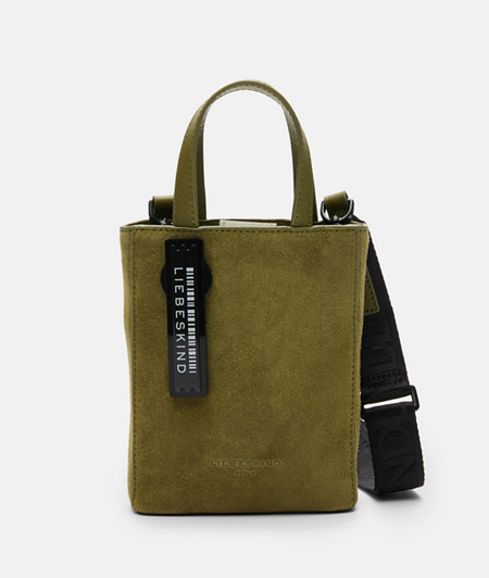 Suede tote bag from liebeskind