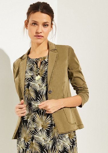 Casual blazer from comma