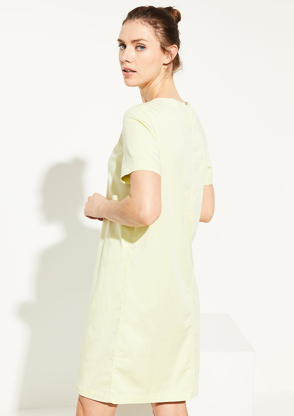 Dress made of lightweight cotton denim from comma