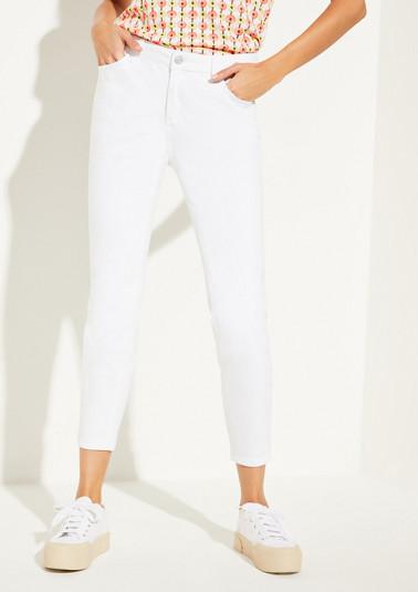 Skinny Fit: Jean teint de Comma