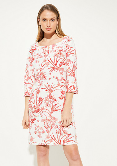 Jersey crêpe dress from comma