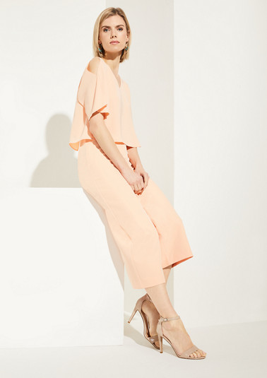 Elegant, poncho-style jumpsuit from comma