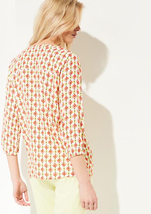 3/4-Arm Bluse aus Viskose