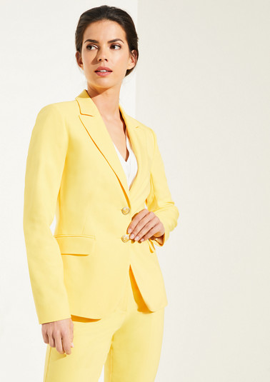 Stretch blazer with buttons from comma
