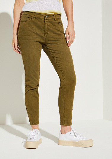 Skinny Fit: slim leg jeans from comma