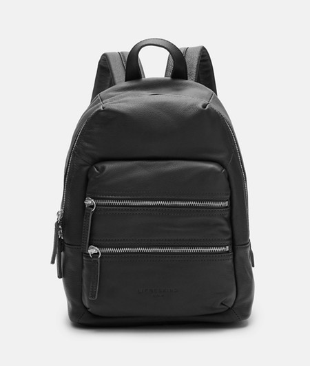 Medium-sized rucksack made of smooth leather from liebeskind
