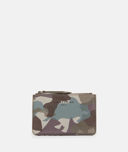 Wallet with a camouflage print from liebeskind