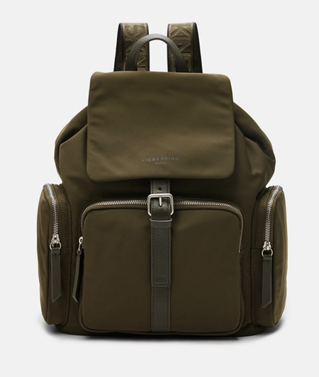 Rucksack made of recycled nylon from liebeskind