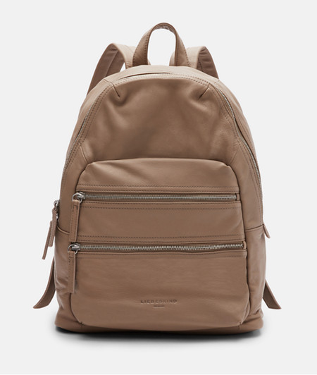Large rucksack made of smooth leather from liebeskind