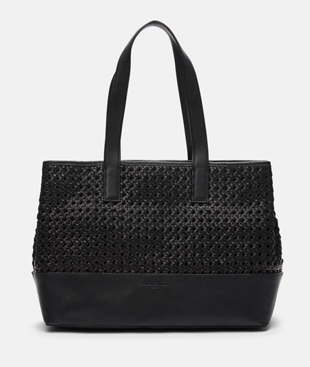 Shoulder bag in hand-woven leather from liebeskind