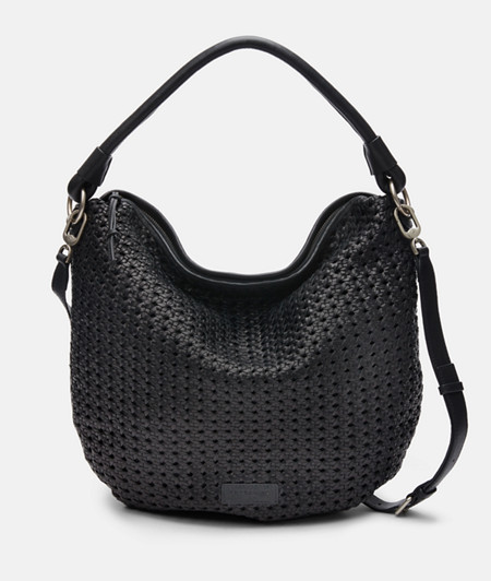 Shoulder bag made of hand-woven leather from liebeskind