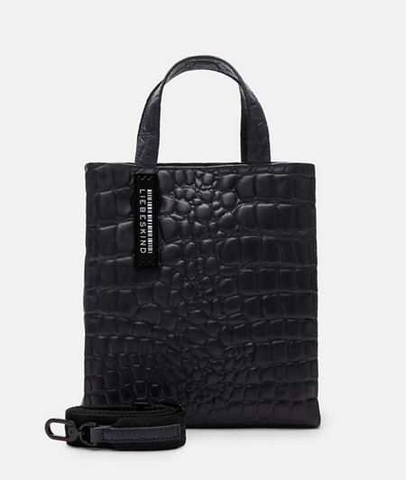 Handbag with crocodile embossing from liebeskind