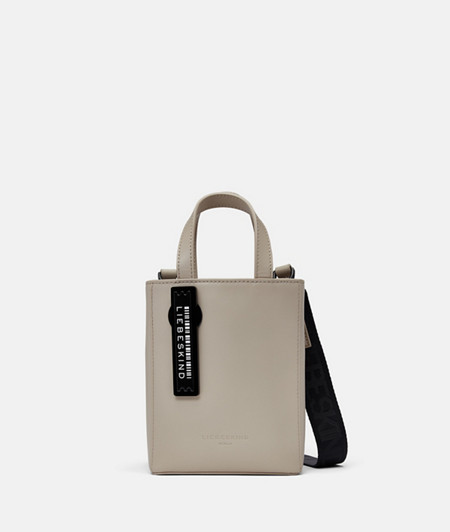 Small leather tote bag from liebeskind