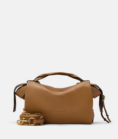 Leather satchel bag from liebeskind
