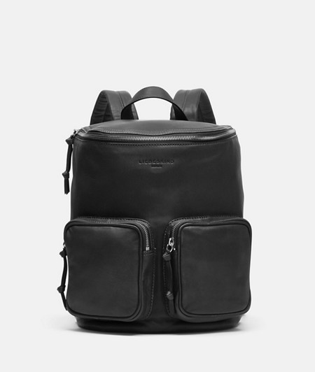 Lamb leather rucksack from liebeskind