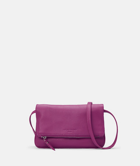 Folded leather clutch from liebeskind