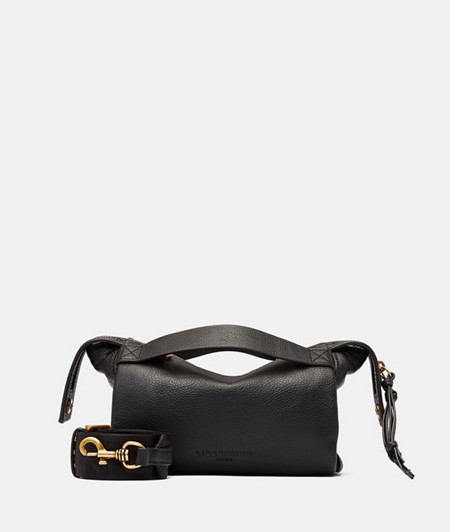 Cylindrical Crossbody S made of leather from liebeskind