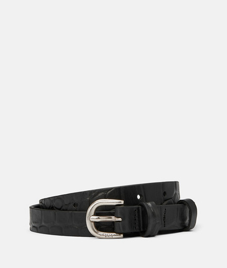Strap with crocodile embossing  from liebeskind