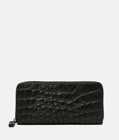 Large wallet with crocodile embossing from liebeskind