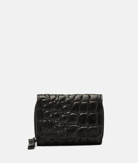Compact wallet with crocodile embossing from liebeskind