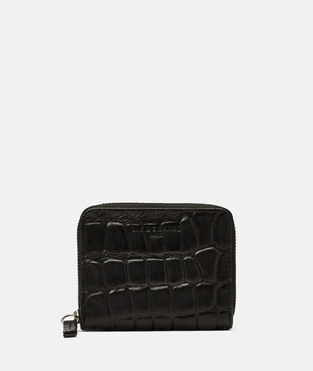 Medium-sized wallet with crocodile embossing from liebeskind