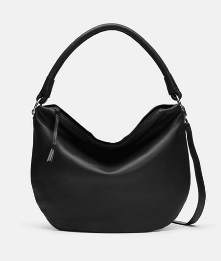 Hobo Bag aus Glattleder