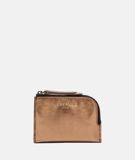 Small wallet with metallic leather from liebeskind