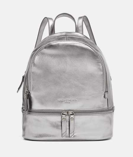 Rucksack in Metallic
