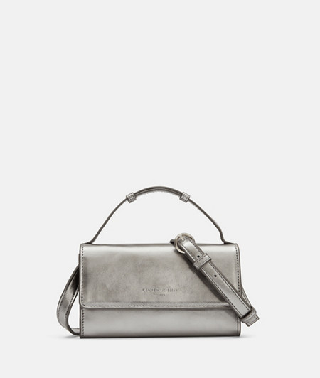 Cross-body bag made of metallic leather from liebeskind