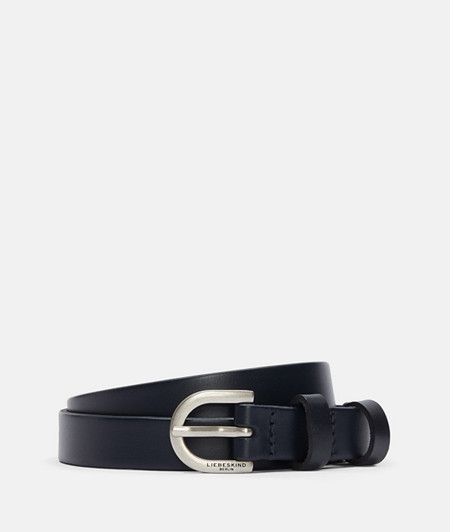 narrow belt made of smooth leather from liebeskind