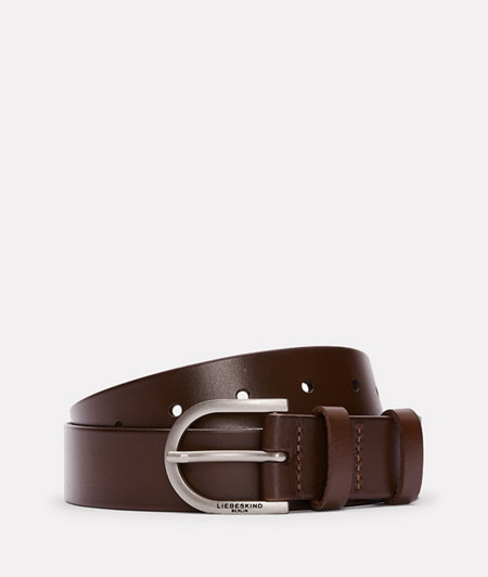 wide belt made of smooth leather from liebeskind
