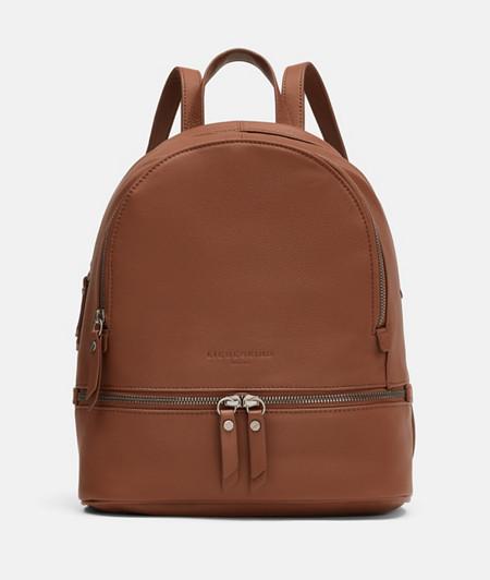 klassischer Rucksack aus Leder