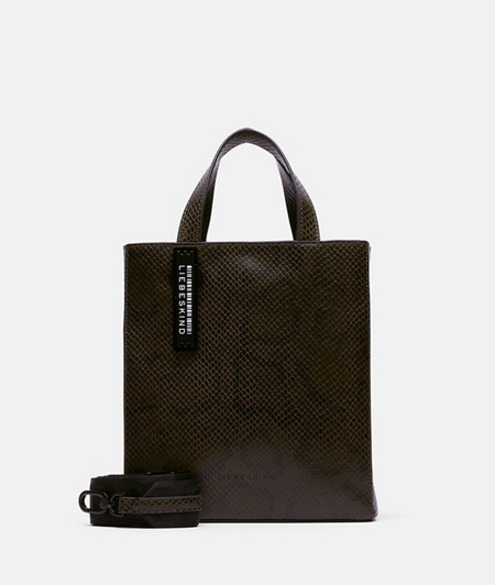 Handbag with a snakeskin pattern from liebeskind