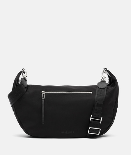 Large cross-body bag made of recycled nylon from liebeskind
