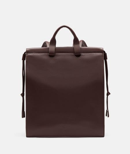 eckiger Rucksack im DIN-Format