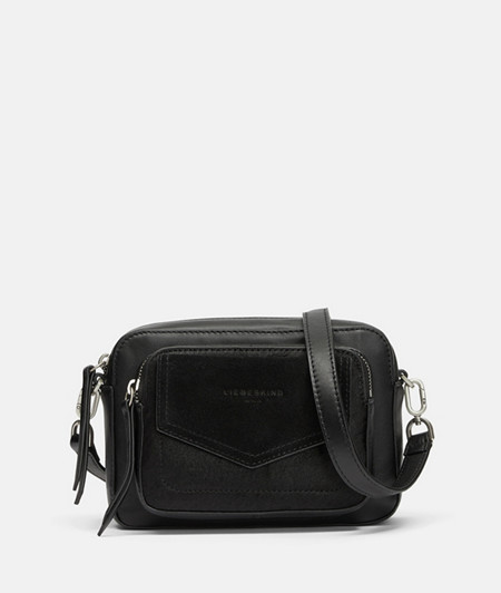 Cross-body bag with a patch front pocket from liebeskind